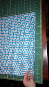Prepare the Material and Trim the Fold.