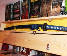 Samurai Sword Security Box