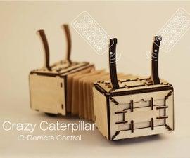Crazy Caterpillar - Arduino Robot w/Grove Joint & Infrared Sensor