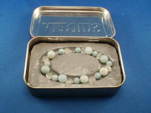 Mini Bead Board in Altoids Tin