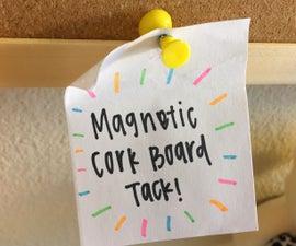 Magnetic Cork Board Tack