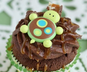 How to Make Turtle Cupcakes