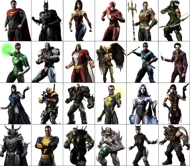 Picture of Choose Your Characters and Stances