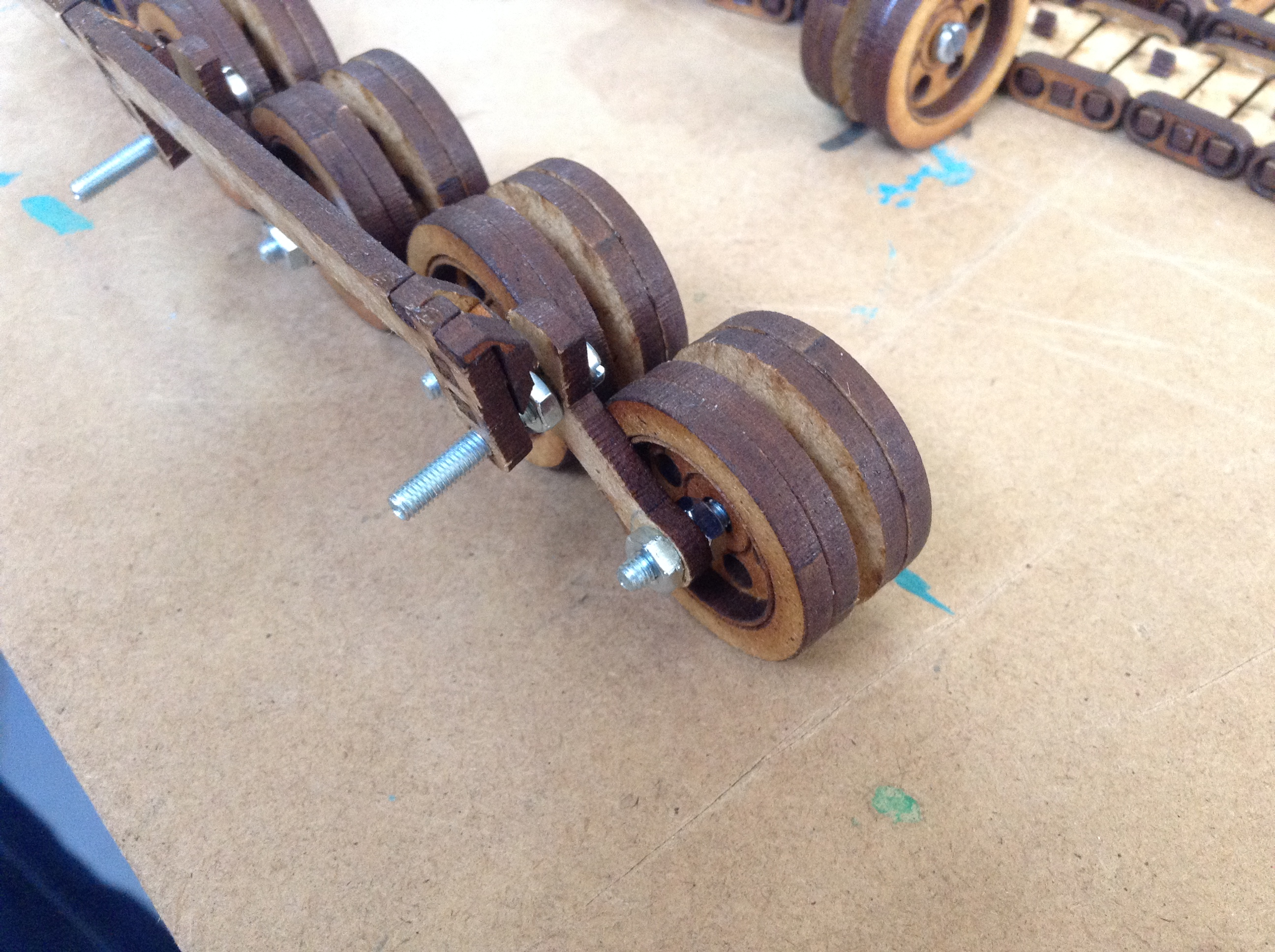Picture of The Moving Tracks (Pt. 1) - the Wheels