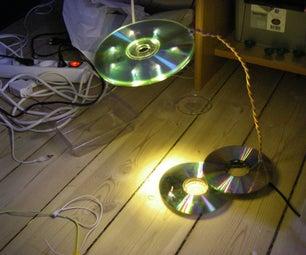 The USB Powered LED CD Lamp