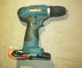 Restoring an Electric Drill With RC Battery