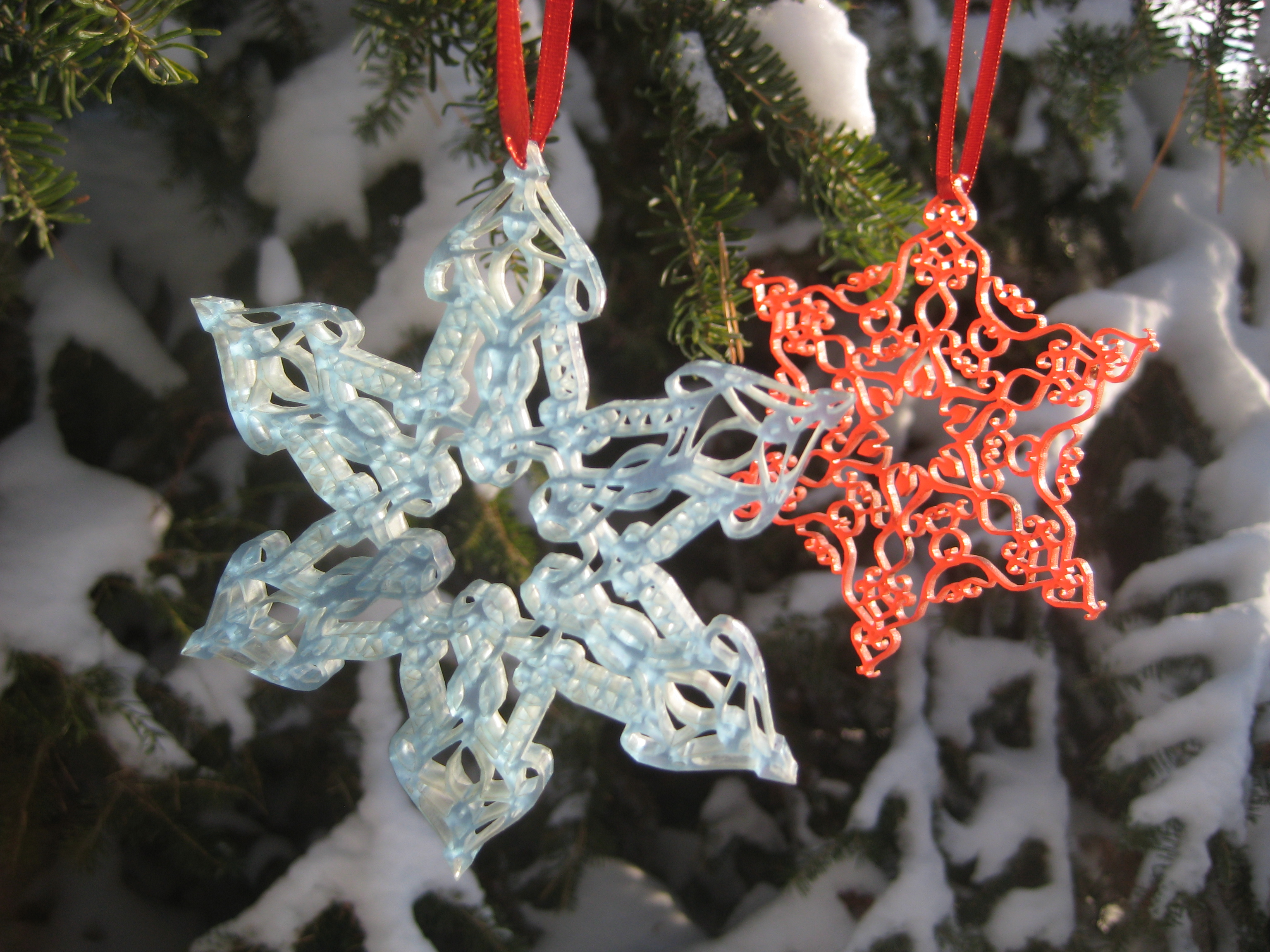 Picture of Laser-cut Ornaments