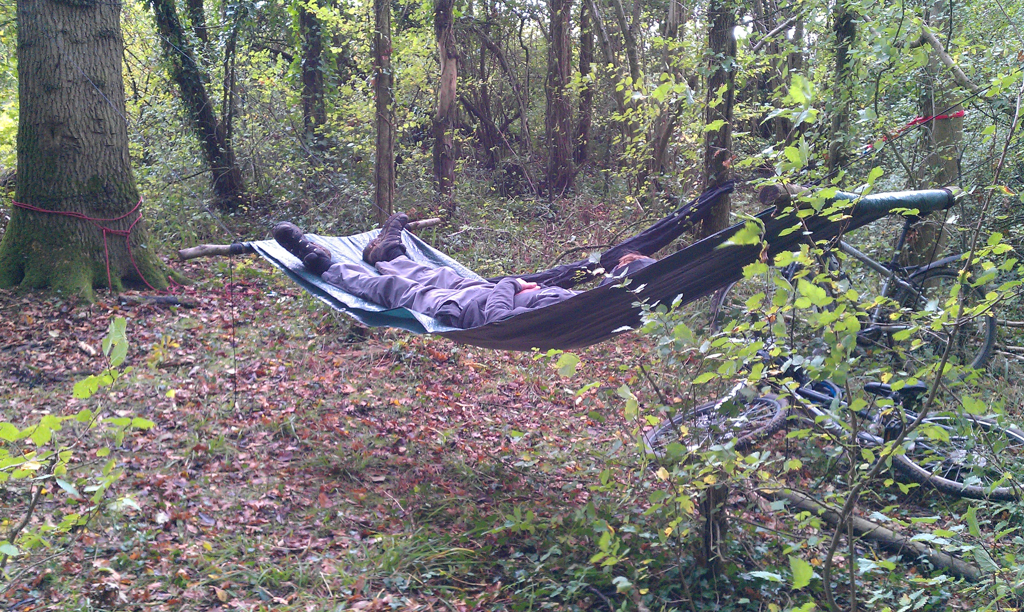 Picture of Tarpaulin and Paracord Hammock