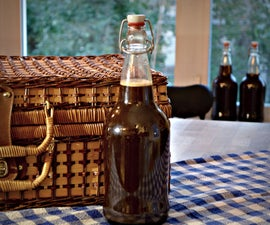 Homemade Rustic Root Beer