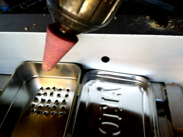 Picture of Drill the Speaker Holes