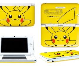 Nintendo 3DS XL Zagg Maximum Coverage Invisible Shield Installation