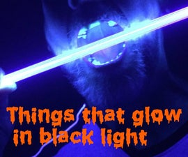 Things That Will Glow In Black(UV) Light