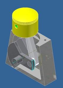 Small  3D Motor