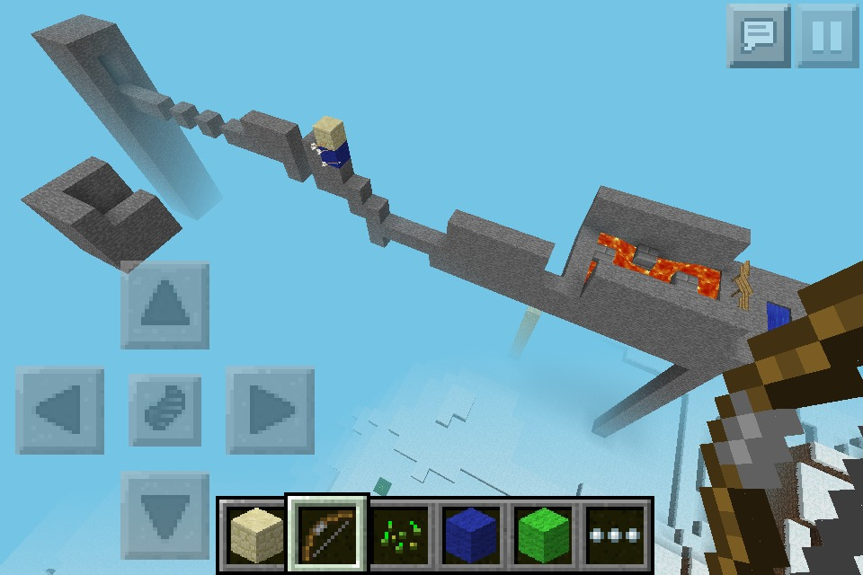 Minecraft PE Awesome Obstacle Course: 5 Steps