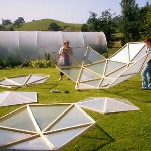 DIY Smart Geodesic Dome Greenhouse W/ SMART CAPABILITIES