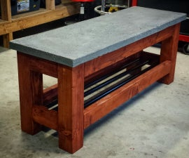 A Simple Modern Bench