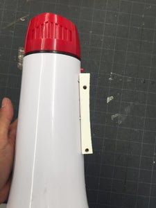 Make a Helmet-megaphone Adapter