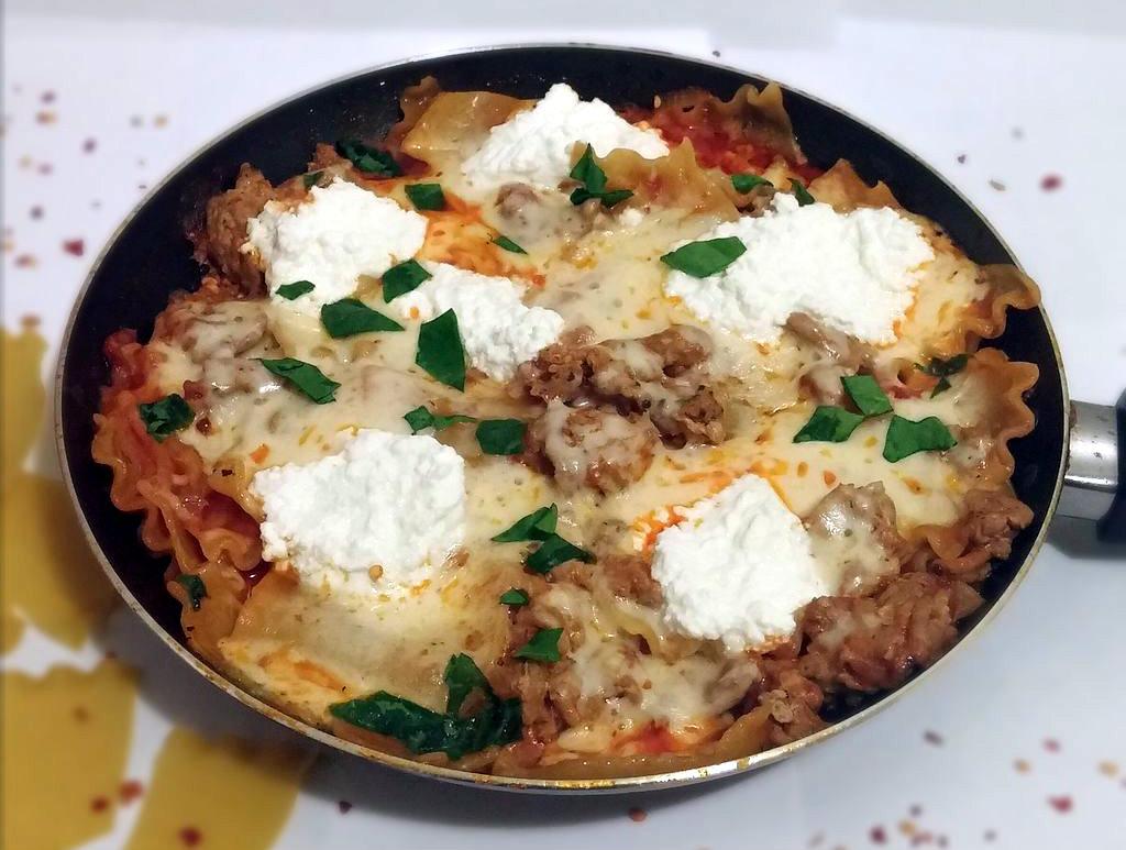 Picture of 20 Minute Lasagna / Skillet Lasagna
