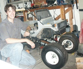 Build a HUGE RC MONSTER TRUCK - Golf Cart Wheels - Moped Motor - Remote Controlled