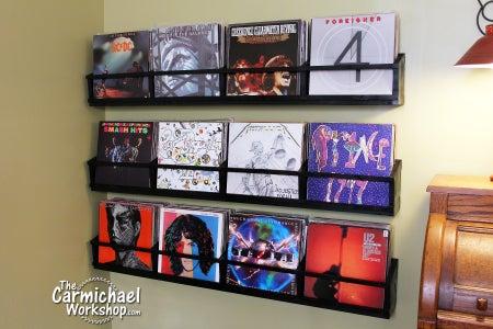 Vinyl Record Wall Storage Racks