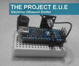 Electronic Ultrasonic Emitter - Basic Version