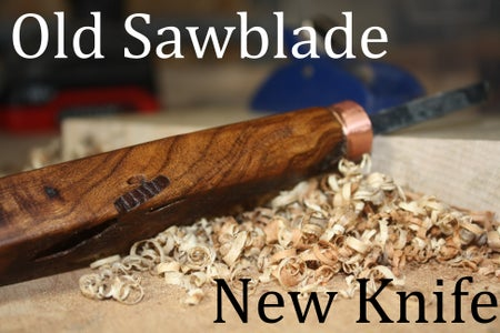 Marking Knife From a Dull Jigsaw Blade