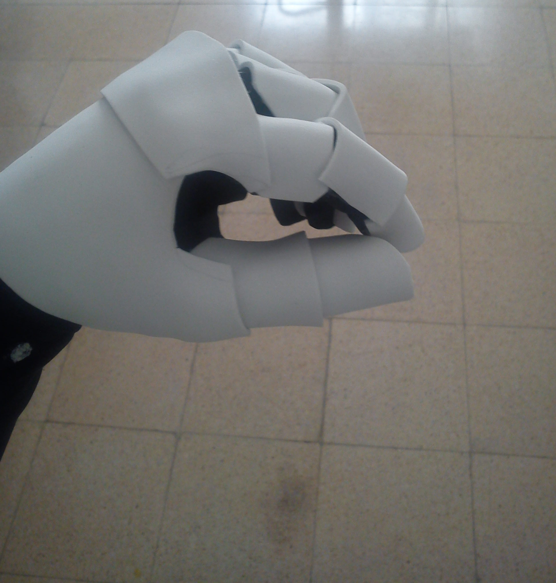 Picture of Gluing the Knuckles Piece