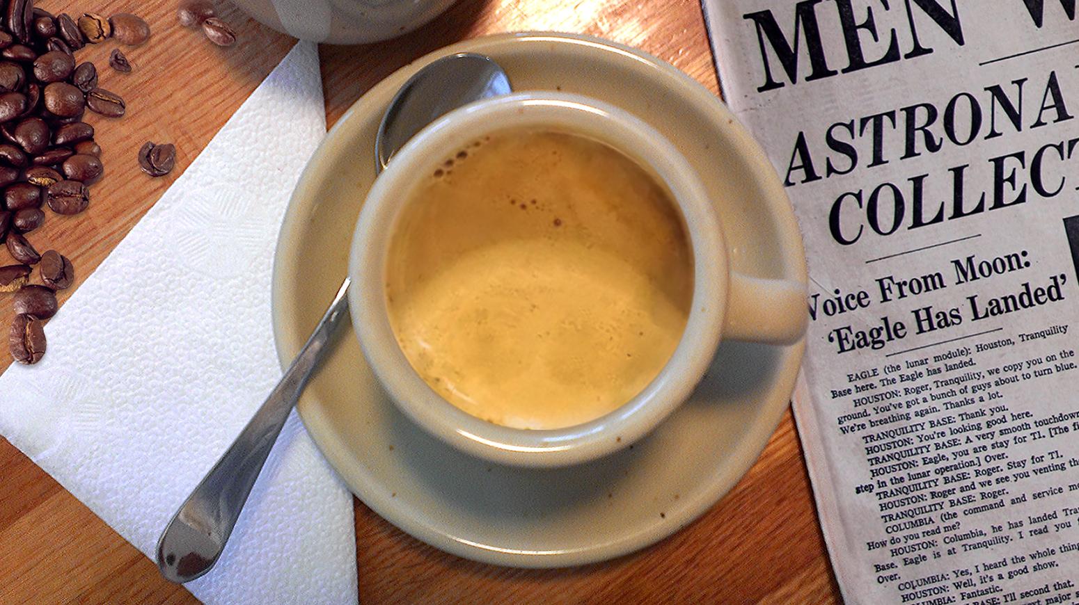 Picture of Create Caffè Mocha, Latte Art in Photoshop