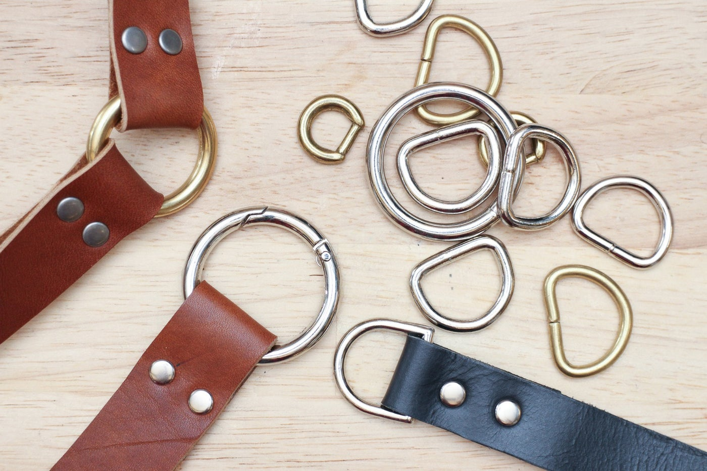 Leather Hardware: Rings