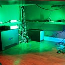 LED Undercabinet / Under Desk Lighting with Dimmer and Wireless Remote