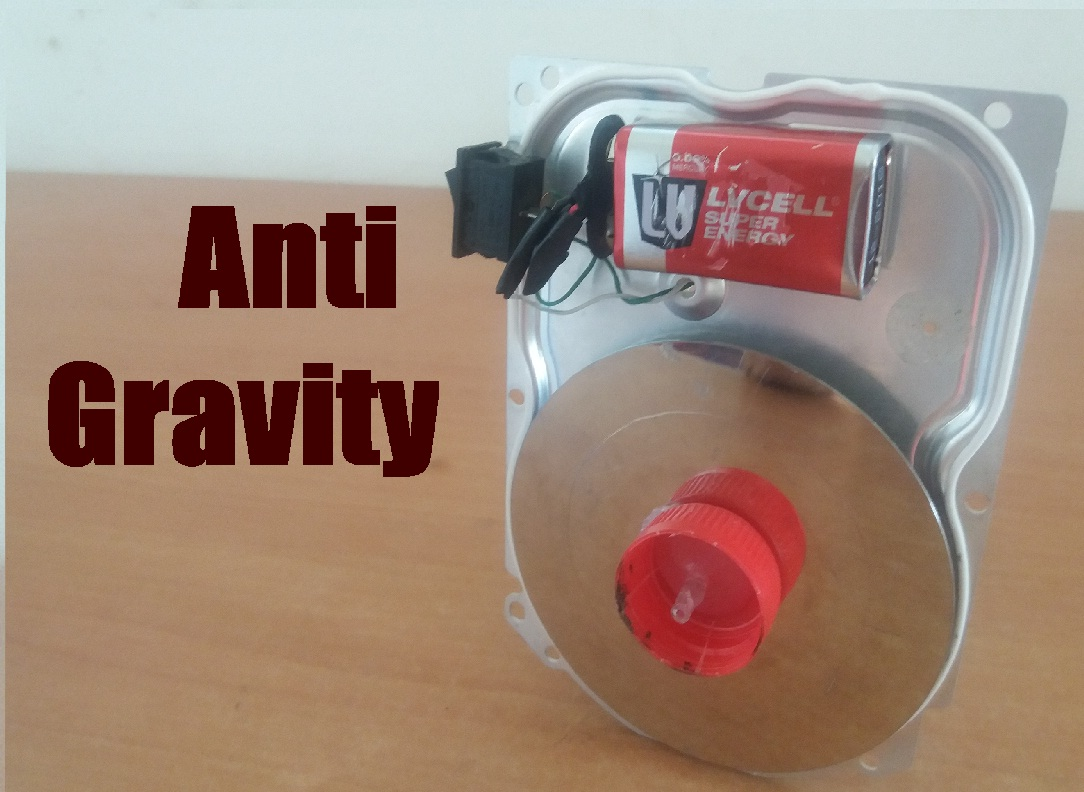 Picture of How to Make Anti Gravity Wheel