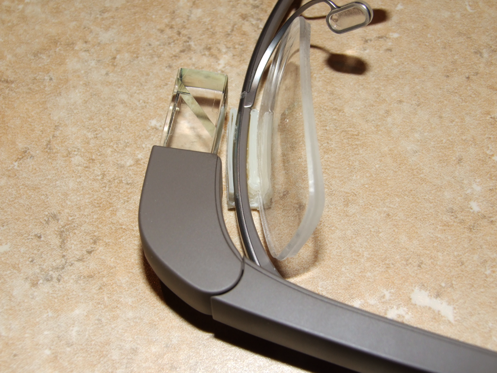 Picture of Google Glass Lens Mount