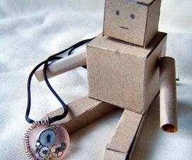 Clockwork Heart Pendant Necklace