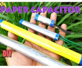 Paper Capacitor