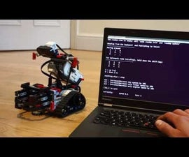 ROS Robot With Lego EV3 and Docker