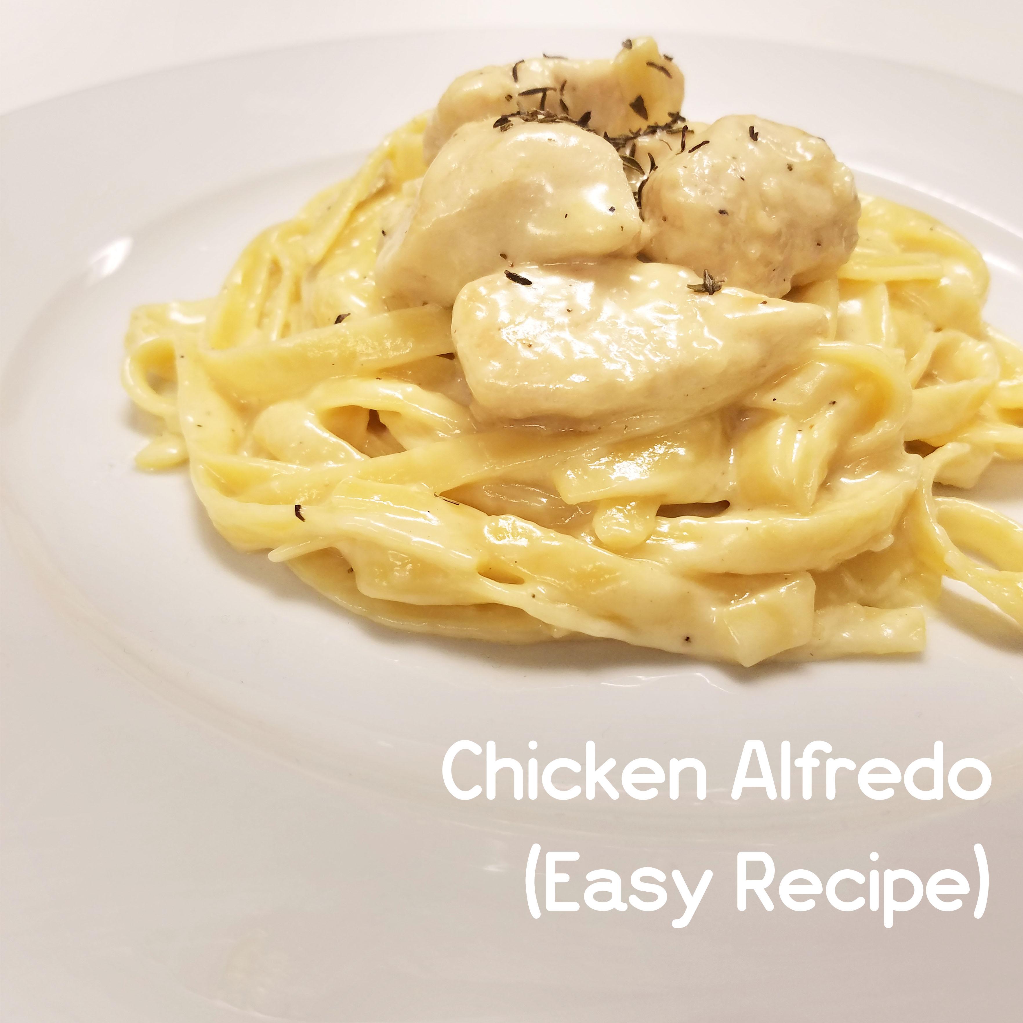 Picture of How to Make Chicken Alfredo (Modifiable Recipe)