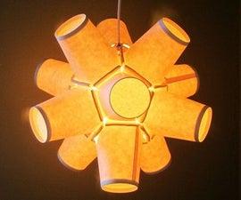 Paper cup lamp DIY