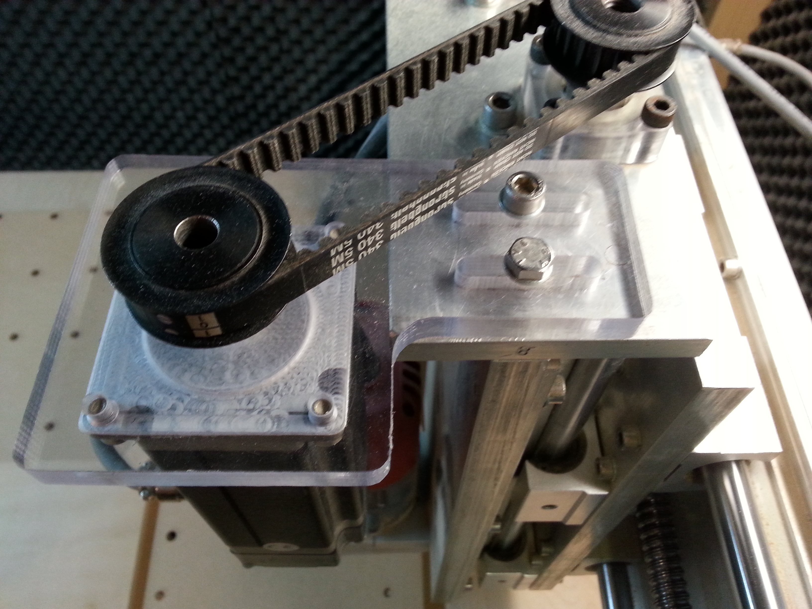 Picture of Z-axis Motor Mount