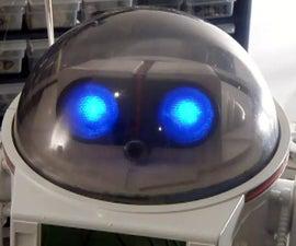 DIY Mod一个omnibot 80的机器人,具有语音,相机,伺服,蓝牙