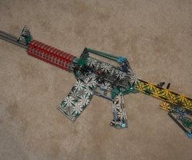 Knex M4A1 / M4 Carbine Assualt Rifle