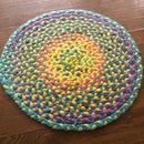 Make a braided t-shirt rug