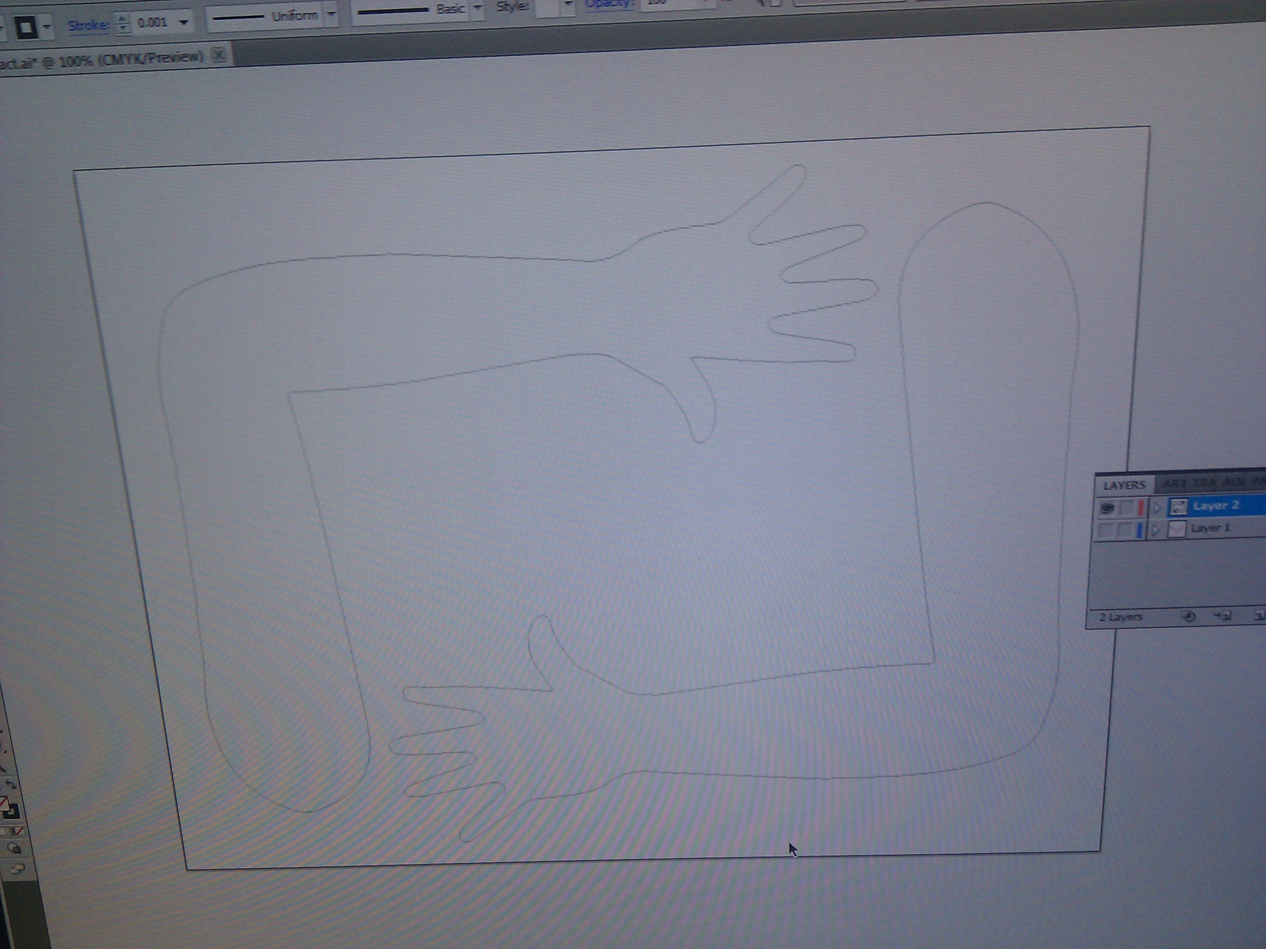 Picture of Design and Cut Out Arms