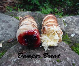 Delicious Campfire-Cooked Damper Bread!