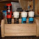 Bachelor's homemade powered pepper grinder