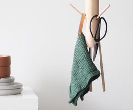 THE HANGING KITCHEN RACK