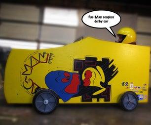 Pac-Man Soapbox Derby Car