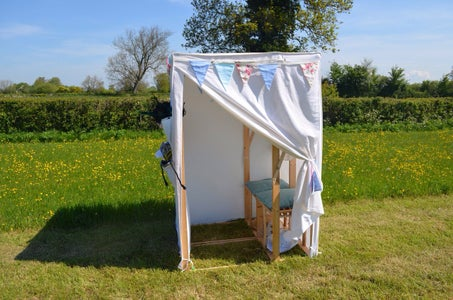 Ikea Hack: Wedding Photo Booth From Canvas Wardrobes