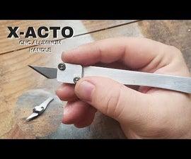 X-ACTO CNC Aluminum Handle
