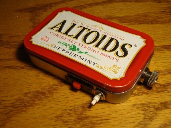 1W Altoids Tin Laser!