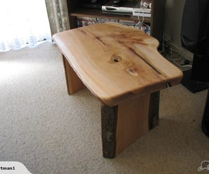 How to Build a Timber Slab Table With No Visible Fixings Using Basic Power Tools & Some Epoxy Glue